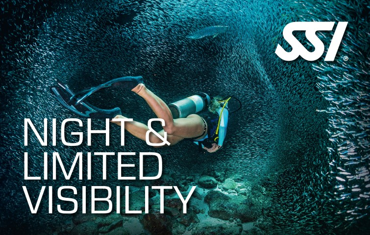 DECOSTOP SSI Night Diving and Limited Visibility